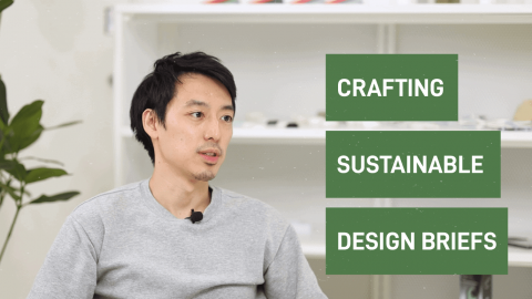 How to weave sustainability into a design brief