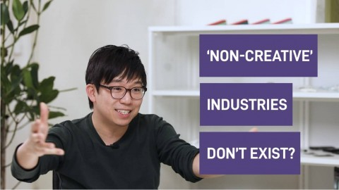 Finding creativity in non-creative work