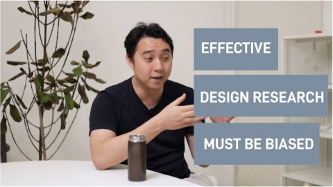 How bias plays a part in design research